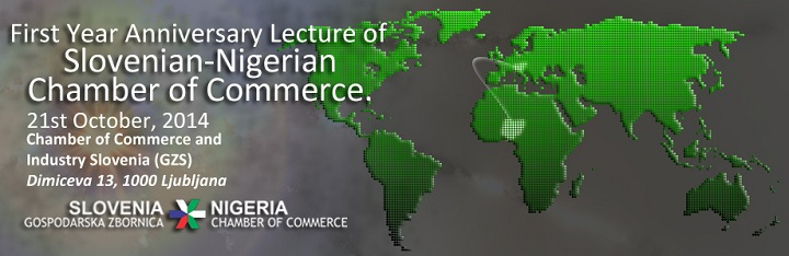 First Year Anniversary Lecture of Slovenian-Nigerian Chamber of Commerce