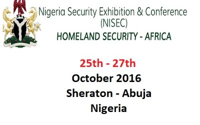 Nigeria Security Exhibition and Conference (NISEC) 2016