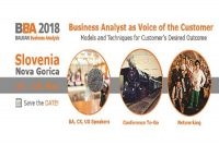 4th Balkan Business Analysis Conference – Nova Gorica, 14. -15. May 2018