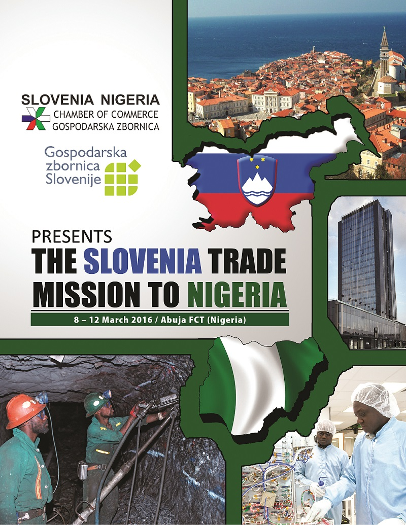 The Slovenia Trade Mission to Nigeria 8-12 March, 2016